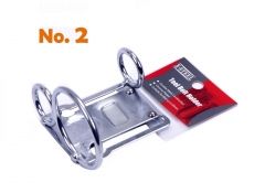 Scaffolders Spanner Holder Hammer Belt Clip Tool Holder with 3 ring:2x25mm vertical+1x50mm #2