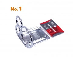 Scaffolders Tool Holder Hammer Lever Belt Clip Holder with 3 Ring:2x25mm+1x50mm #1